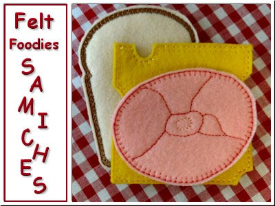 Felt Foodies Samiches
