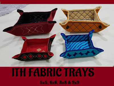 ITH Fabric Trays
