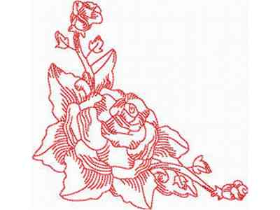 Rose Border Design